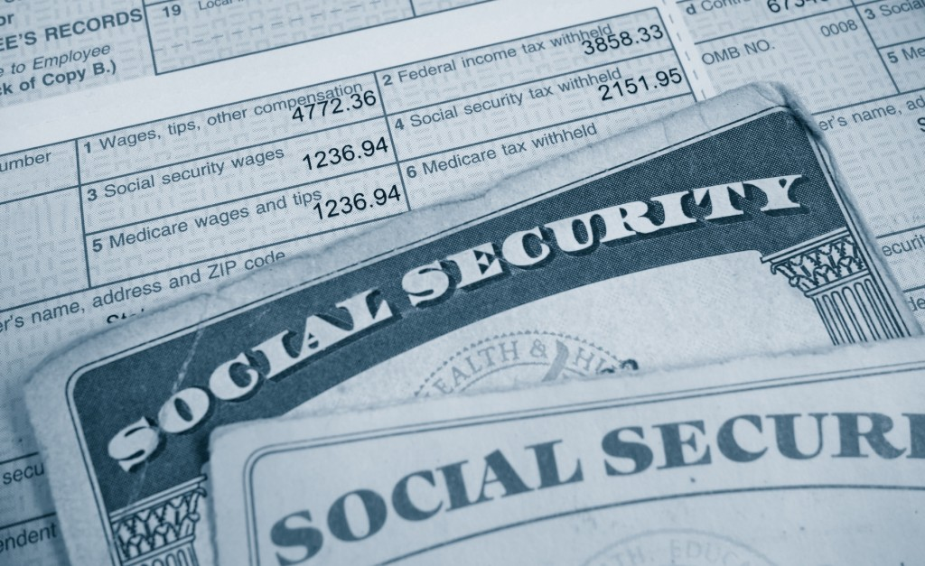 W2 and Social Security cards, Vocational Analysis
